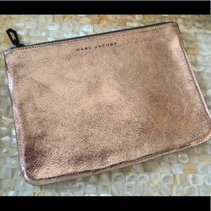 Marc Jacobs Limited Edition Rose Gold Clutch